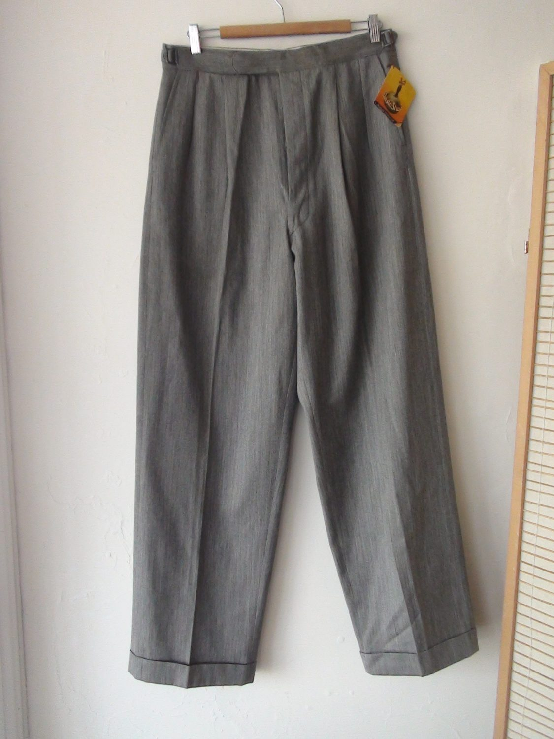 a45207f2 ORIGINAL 1940S MEN'S PANTS 34 X 31